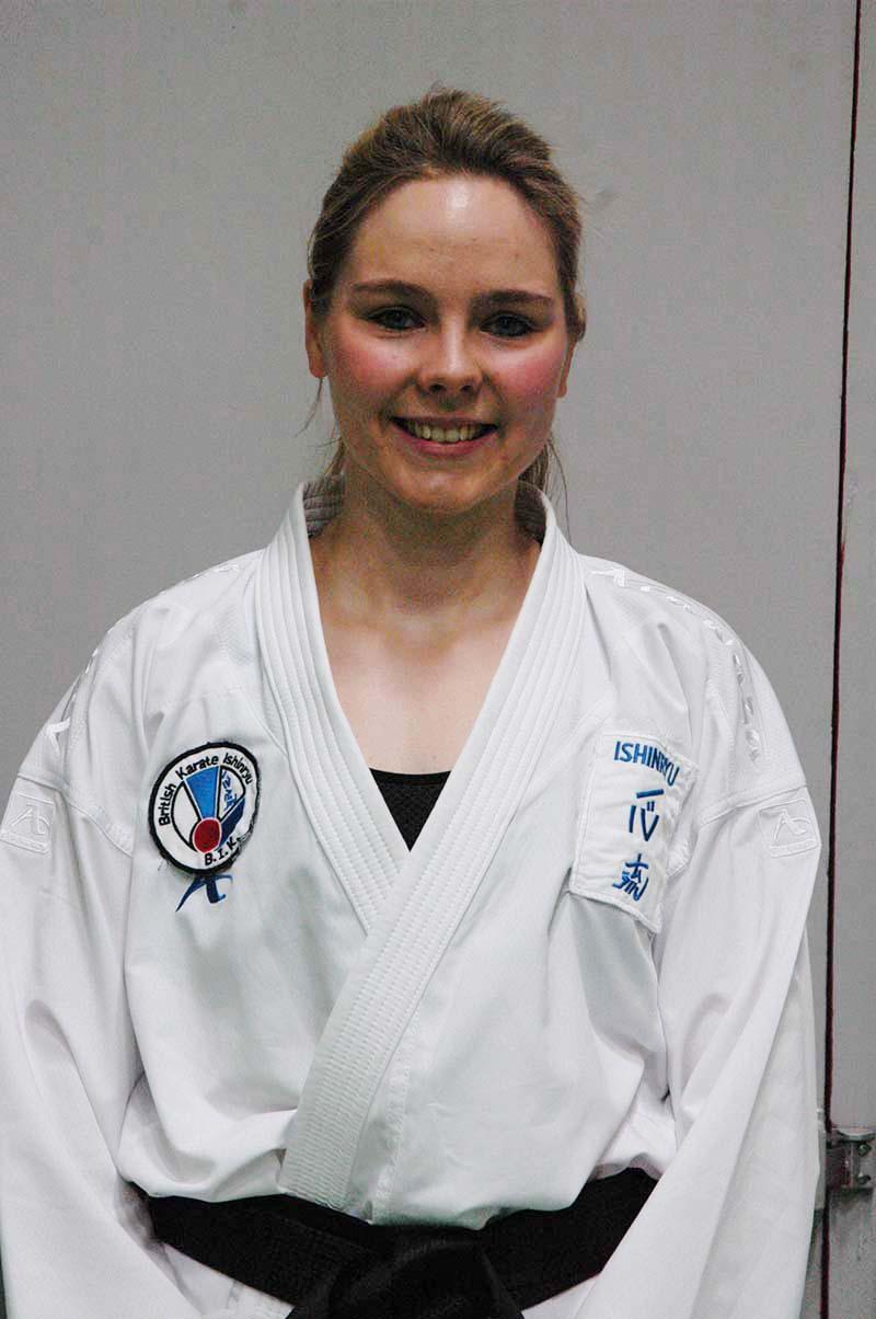 Kate Karwacinski (4th Dan)